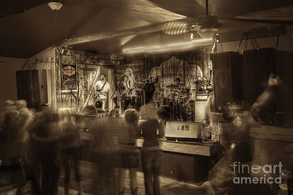 Photograph - Keri Leigh Singing At Schmitt's Saloon by Dan Friend