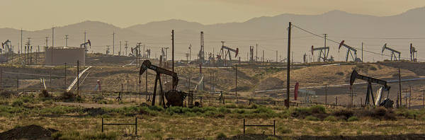 Wall Art - Photograph - Kern River Oil Field by Jim West/science Photo Library