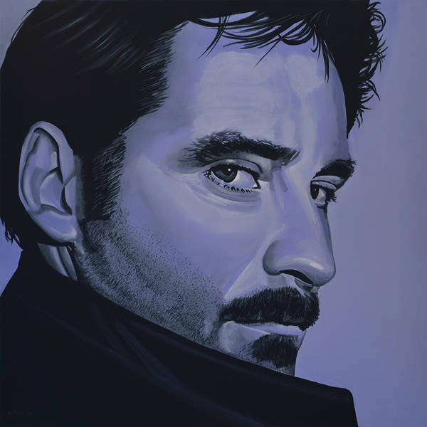 Wall Art - Painting - Kevin Kline by Paul Meijering