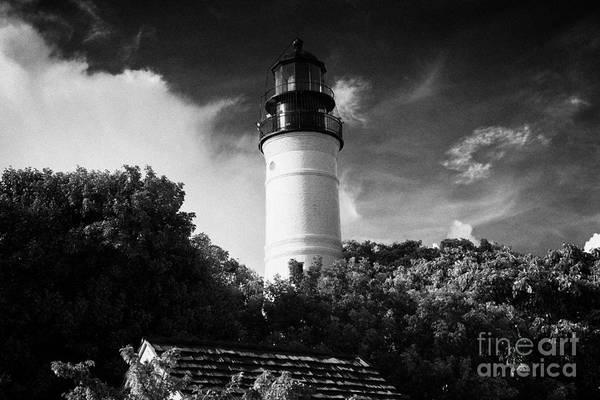 Wall Art - Photograph - Key West Lighthouse Florida Usa by Joe Fox