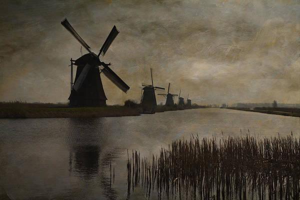 Kinderdijk Art Print