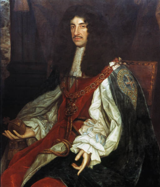 Painting - King Charles II Of England by Granger