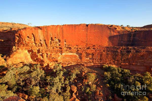 Central Australia Photograph - Kings Canyon by Bill  Robinson