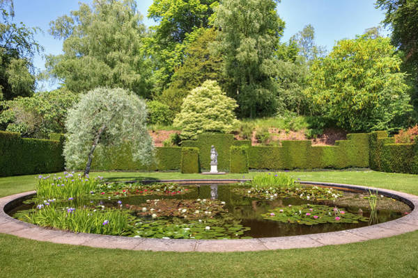 English Garden Photograph - Knightshayes Court by Joana Kruse