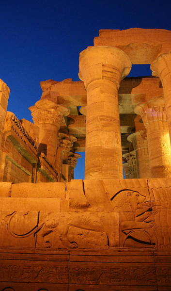 Photograph - Kom Ombo Temple by Olaf Christian