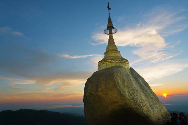 Wall Art - Photograph - Kyaiktiyo Pagoda, Gold Rock, Mon State by Keren Su