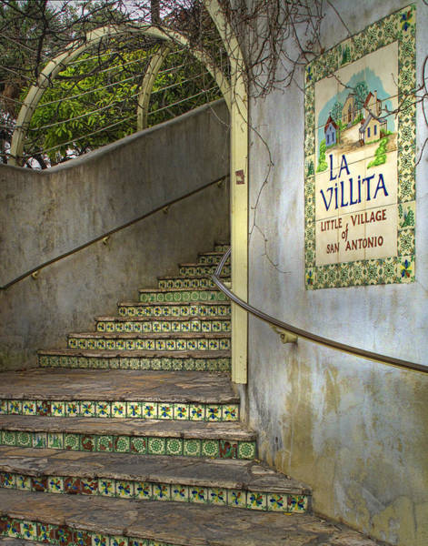San-antonio Photograph - La Villita  by David and Carol Kelly