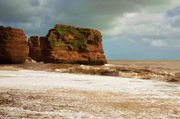 Photograph - Ladram Bay by Pete Hemington