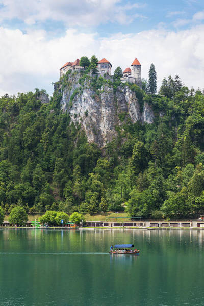 Outing Photograph - Lake Bled, Upper Carniola, Slovenia by Panoramic Images