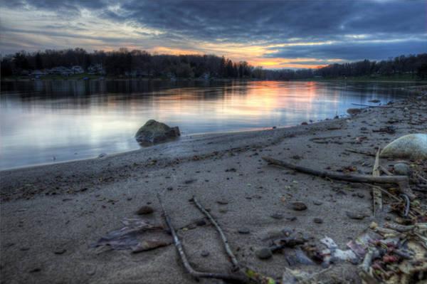 Photograph - Lake Sunset by David Dufresne