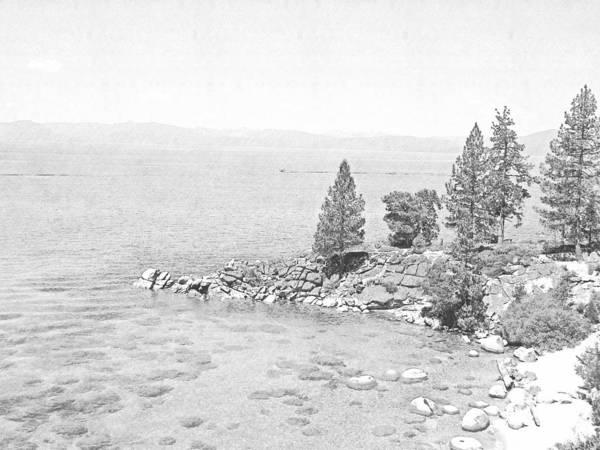 Photograph - Lake Tahoe Secret Cove by Frank Wilson