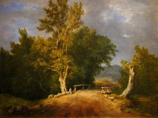 Painting - Landscape by Celestial Images