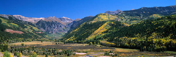 Telluride Photograph - Landscape With Mountain Range by Panoramic Images