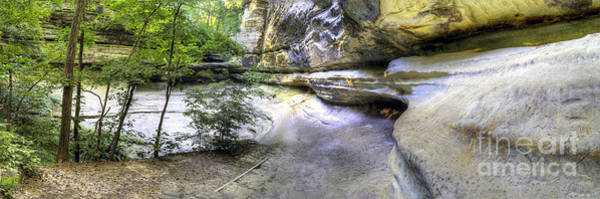 Starving Photograph - Lasalle Canyon At Starved Rock by Twenty Two North Photography
