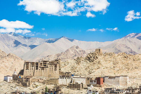 Photograph - Leh  Palace In Ladakh by Didier Marti