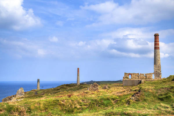 Mine Photograph - Levant Mine - Cornwall by Joana Kruse