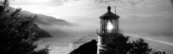 Heceta Head Lighthouse Photograph - Lighthouse On A Hill, Heceta Head by Panoramic Images