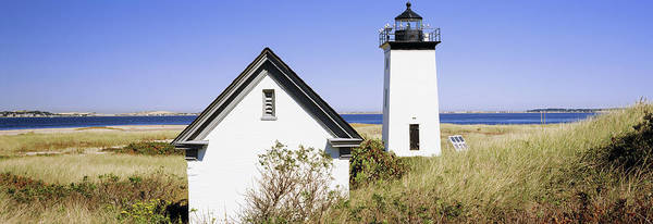 Wall Art - Photograph - Lighthouse On The Beach, Long Point by Panoramic Images