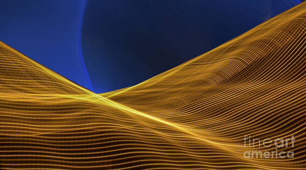 Photograph - Lightscape 11 by Gerald Grow