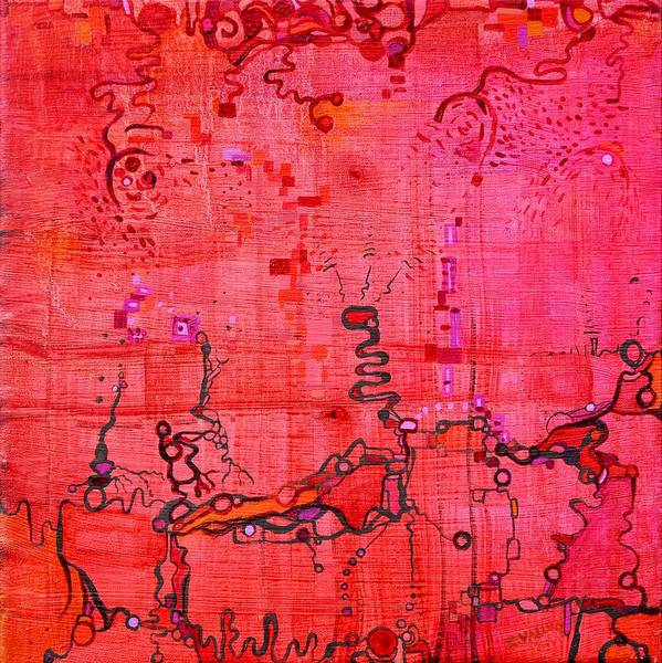Painting - Listen by Regina Valluzzi