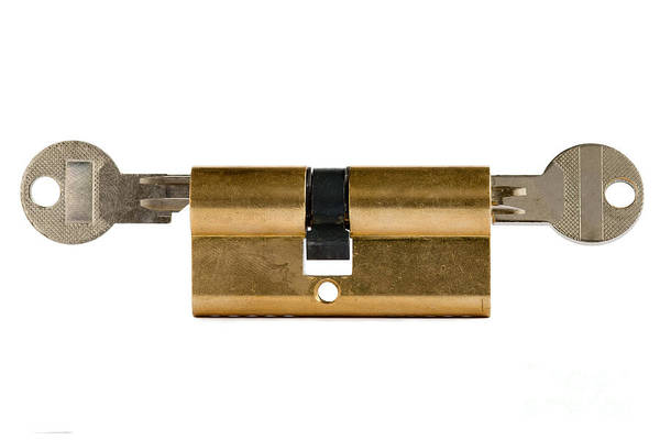 Wall Art - Photograph - Locked - Under Lock And Key by Michal Boubin