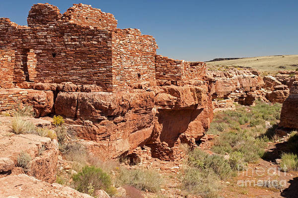 Photograph - Lomaki Pueblo In Wupatki National Monument by Fred Stearns