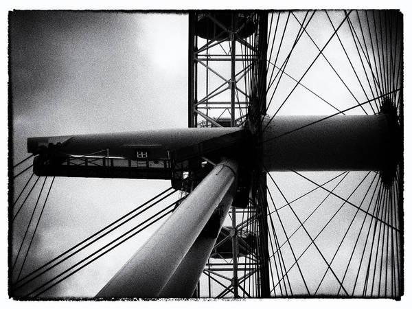 Wall Art - Photograph - London Eye by Sharon Lisa Clarke