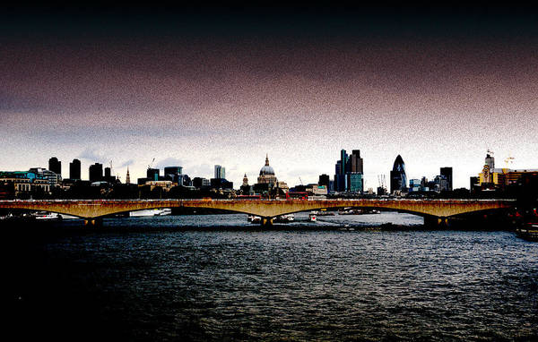 Photograph - London Over The Waterloo Bridge by RicardMN Photography