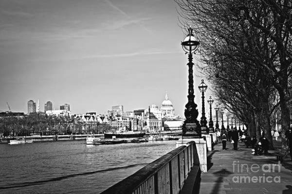 Wall Art - Photograph - London View From South Bank by Elena Elisseeva