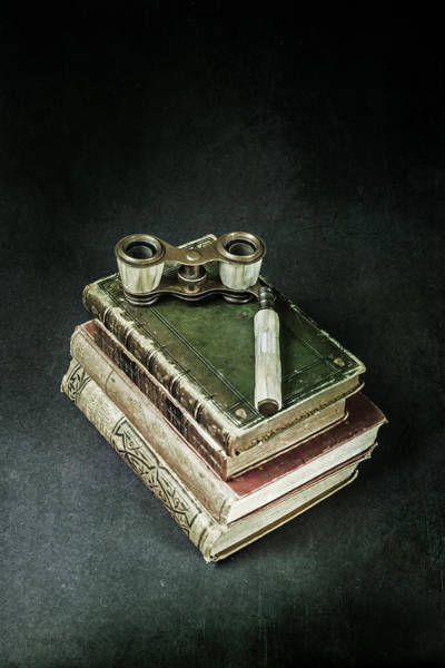 Wall Art - Photograph - Lorgnette With Books by Joana Kruse