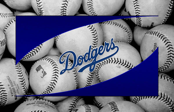 Outfield Wall Art - Photograph - Los Angeles Dodgers by Joe Hamilton