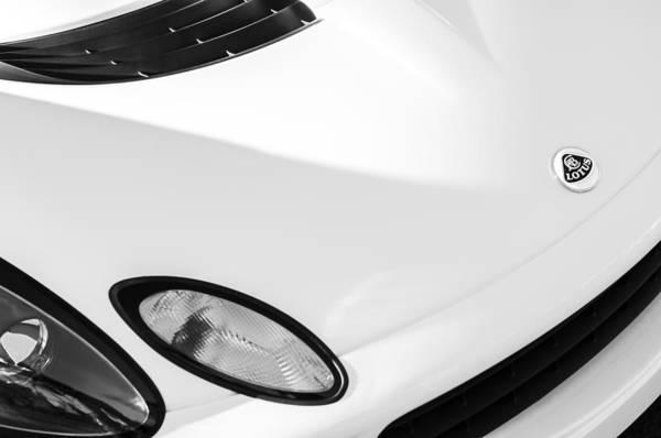 Photograph - Lotus Hood Emblem by Jill Reger