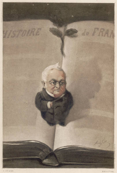 Gill Drawing - Louis-adolphe Thiers  French Statesman by Mary Evans Picture Library