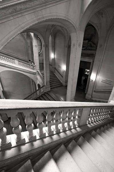 Photograph - Louvre Museum Architecture Paris by Pierre Leclerc Photography