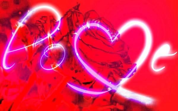 Digital Art - Love by Catherine Lott