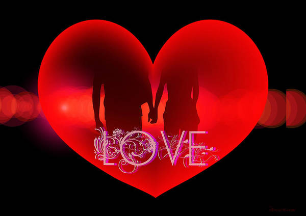 Digital Art - Love by Ericamaxine Price