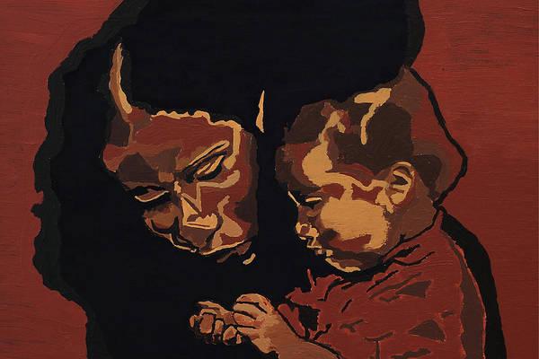 Jazz-funk Painting - Love by Rachel Natalie Rawlins