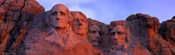 Thomas Jefferson Photograph - Low Angle View Of A Monument, Mt by Panoramic Images