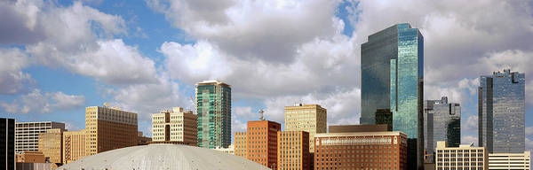 Fort Worth Photograph - Low Angle View Of Skyscrapers, Fort by Panoramic Images
