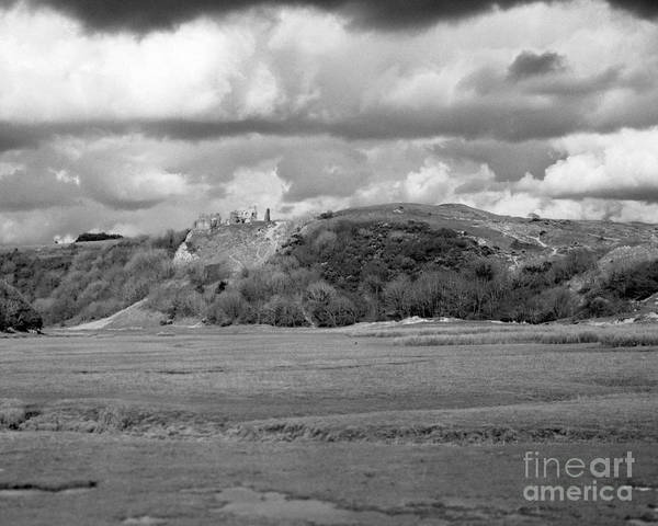 Photograph - Louring Clouds Over Pennard Castle by Paul Cowan