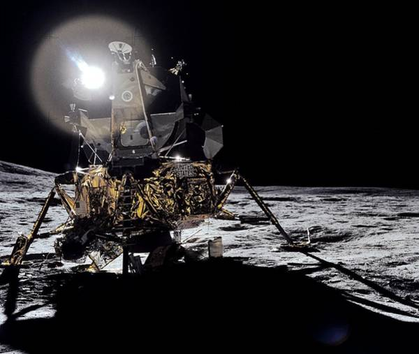 Module Wall Art - Photograph - Lunar Module by Nasa/science Photo Library