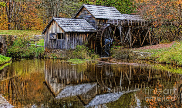 Photograph - Mabry Mill by Ola Allen