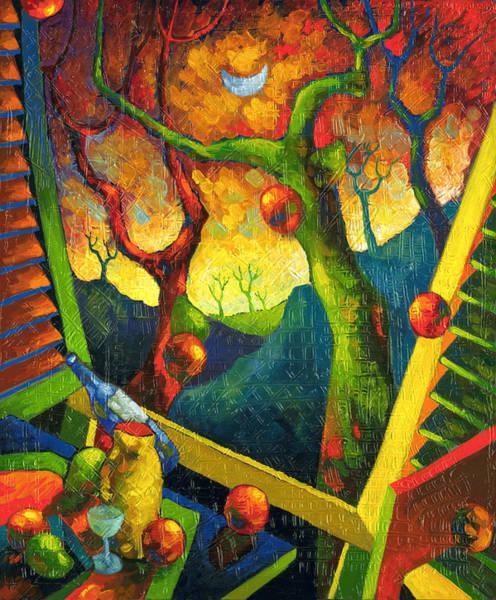 Conceptualism Painting - Magic Moon by Miguel Suarez-Pierra
