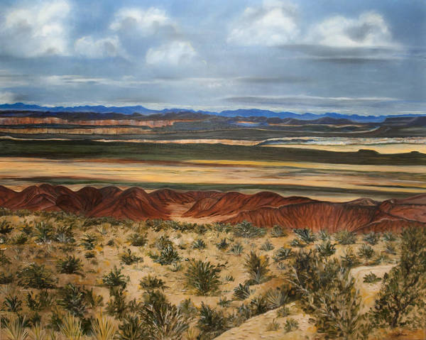 Chinle Painting - Magnificent View by Gina Cordova