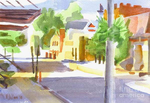 Painting - Main Street South II by Kip DeVore