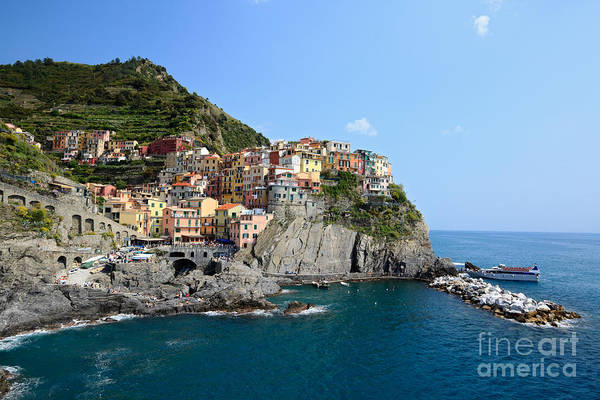 Northern Italy Photograph - Manarola In The Cinque Terre - Italy by Matteo Colombo