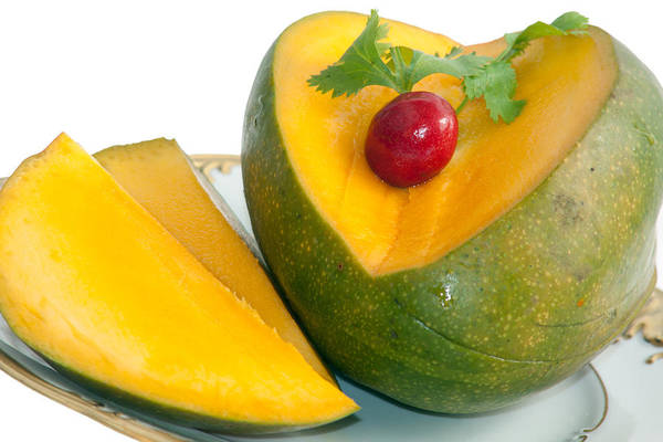 Photograph - Mango by Gunter Nezhoda