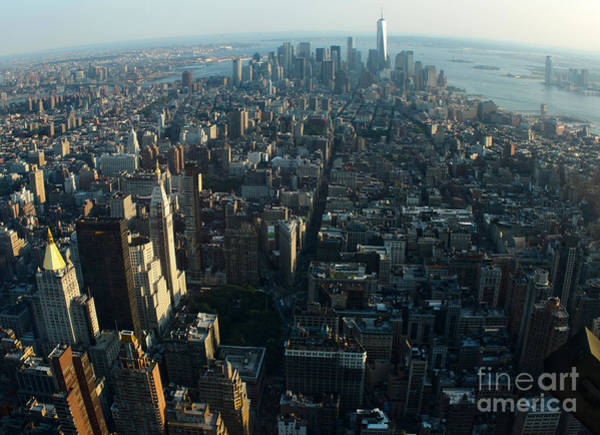 Photograph - Manhattan Cityscape by Gregory Dyer