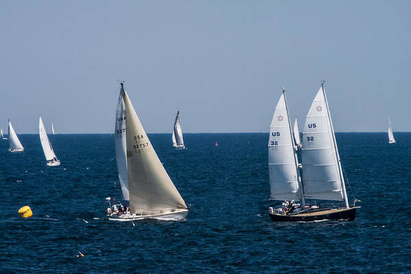 Photograph - Marblehead To Halifax Ocean Race by Jeff Folger