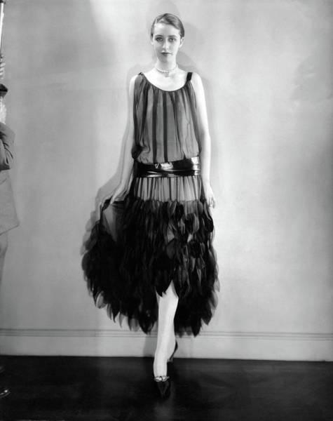 Wall Art - Photograph - Marion Morehouse Wearing A Louiseboulanger Dress by Edward Steichen